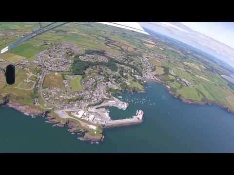 Quick flight around Ireland in the Zenith CH 701