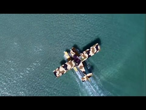 Zenith STOL on Full Lotus floats: seaplane flying fun