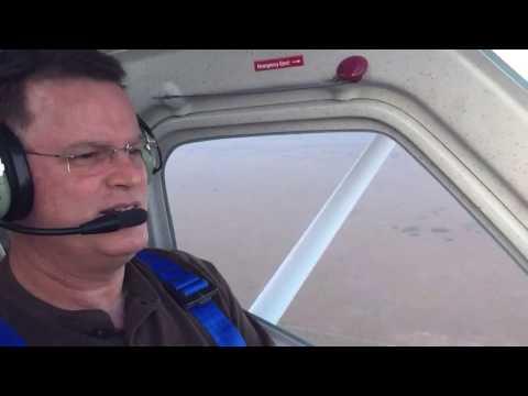 First hour of my flight training