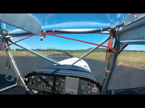 Zenith test flights - shortened prop