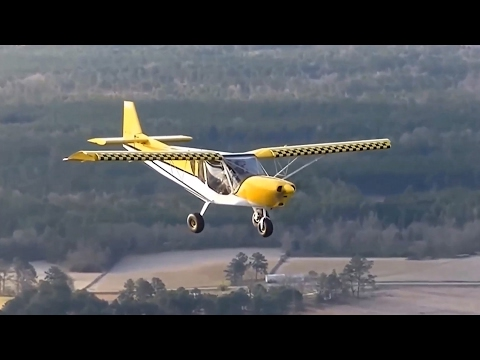 """Flying the Zenith STOL CH 750 """"Sky Jeep"""" over southern Alabama"""