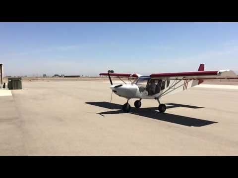 STOL CH 750: Taxi with the Cowling on