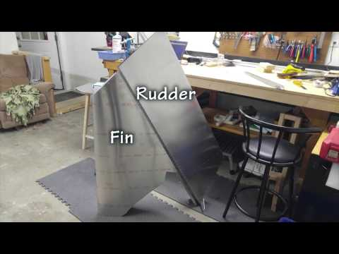 Scratch Building a Zenith Cruzer Fin - Chris Boultinghouse