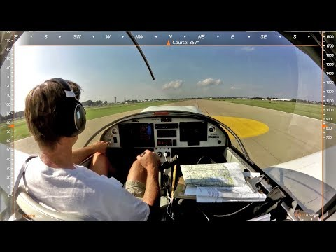 Landing on the Yellow Dot: Arrival at Oshkosh 2017 (with audio)