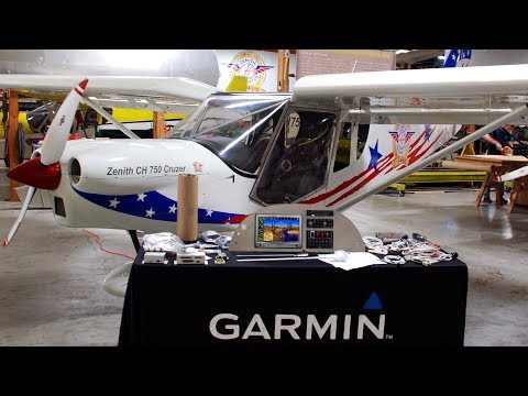 Instruments / Avionics Package for Zenith Aircraft using Garmin G3X