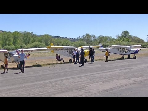 Highlights from the 2018 Quality Sport Planes Open House and Zenith West Coast Fly-In