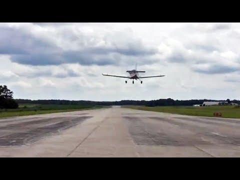 Freddy Heintz solo flight in the Zenith CH 650