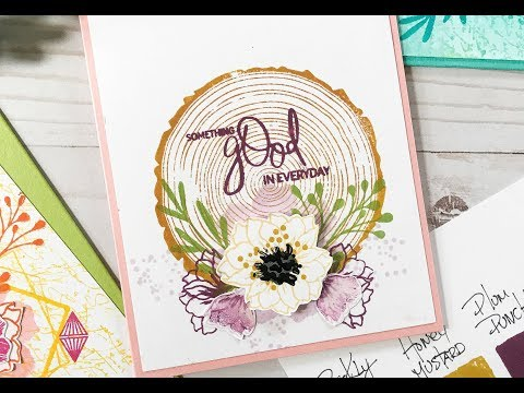Card Tutorial: Layering Complementary Colors for Simple Card Design