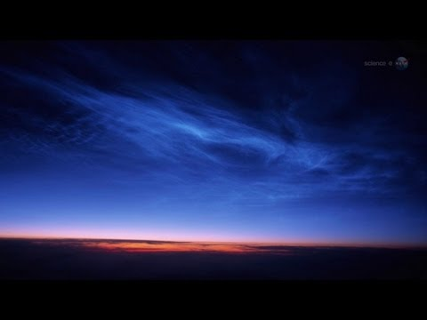 ScienceCasts: An Early Start for Noctilucent Clouds