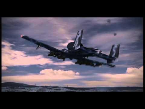"""An A-10 Thunderbolt II """"Warthog"""" Tribute"""