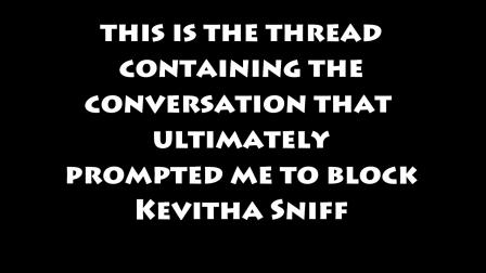 Kevitha Sniff