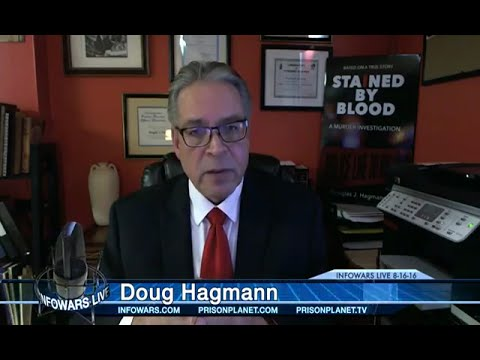 Alex Jones : Commercial Free - Tuesday (8-16-16) Doug Hagmann