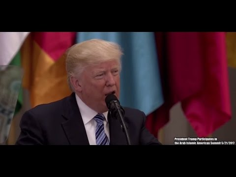 FULL SPEECH: President Donald Trump Delivers A Historical & Valuable Speech To Muslim Nations KSA