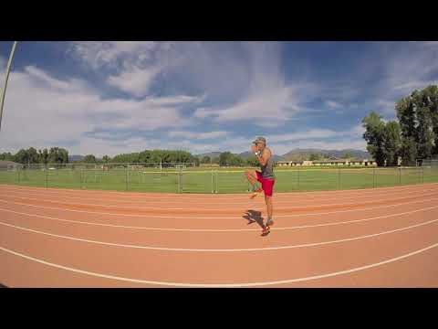 Run Drills: Skip for Height to improve cadence, speed, strength.