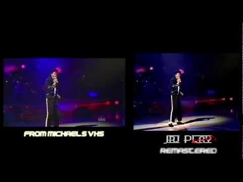 Michael Jackson Man In The Mirror Live At Wembley Remastered Vs. Original
