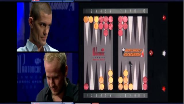 *****Lylloff/Hansen, $10,000 bet, World Series of Backgammon Special