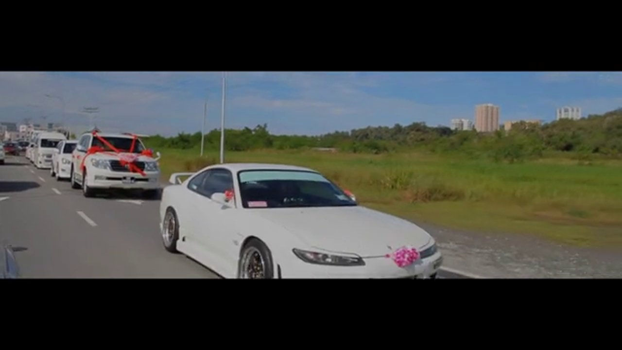 "LEA CHAI & ANNIE Wedding Highlight ""Sporty Convoy!!!"""