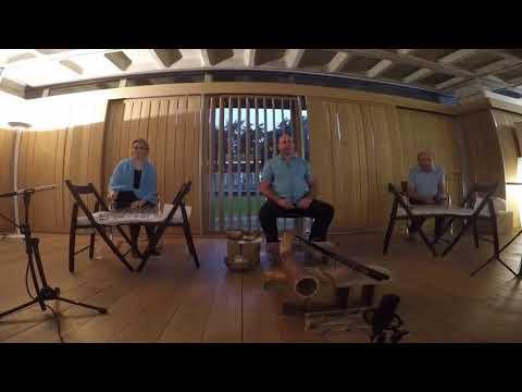 Harpes de cristal , didjeridoo, chant harmonique, flute harmonique