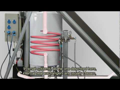 Low temperature solar thermal system for domestic hot water supply in buildings