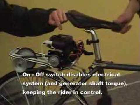 Bike power while you ride