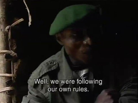 Interview with rapists in DRC