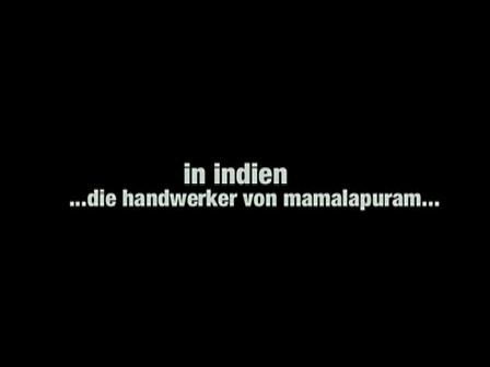 the craftsmen of mamalapuram