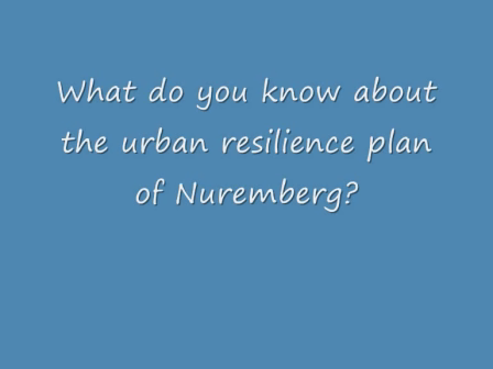 Urban Resilience Plan of Nuremberg