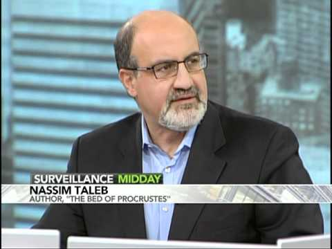 """Black Swan"" Author Nassim Taleb on Bloomberg Television"