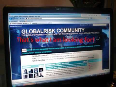 Global Risk community - a risk manager in the desert