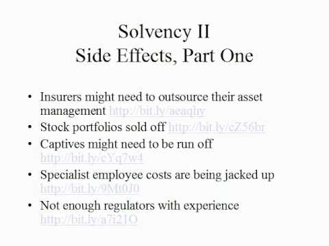 Solvency II Presentation by Claude Penland, Actuary