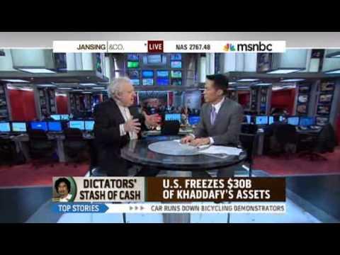 JEFFREY ROBINSON ON HOW GADDAFI  HIDES HIS MONEY - MSNBC