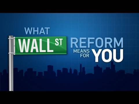 What Wall Street reform means for you?