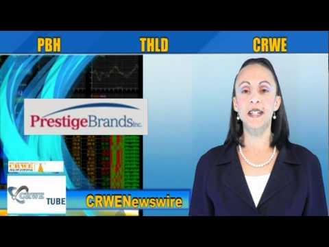 (CRWE, PBH, THLD) CRWENewswire.com Stocks In Action