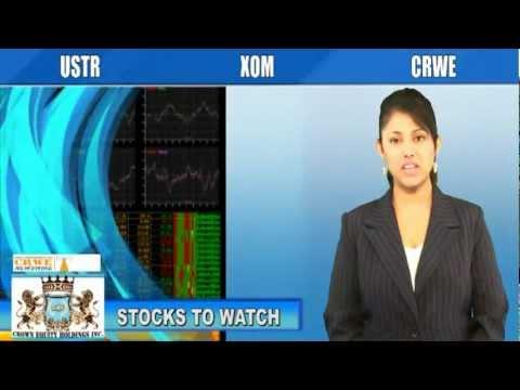(CRWE, XOM, USTR) CRWENewswire.com Stocks to Watch