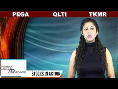 (PEGA, TKMR, QLTI) CRWENewswire.com Stocks In Action
