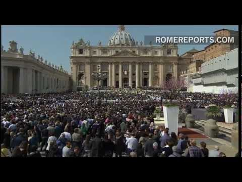 Pope Francis Palm Sunday Homily: Joy, Cross, Youth