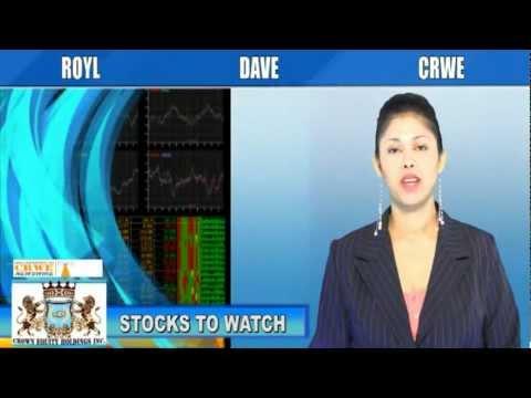 (DAVE, CRWE, ROYL) CRWENewswire.com Stocks to Watch
