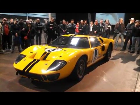 Dr  Simeone Introduces the Ford GT40 MkIV Feb 2016