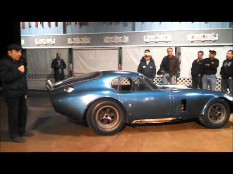 Dr Simeone Introduces The Shelby Daytona Coupe at the Feb Demo Days