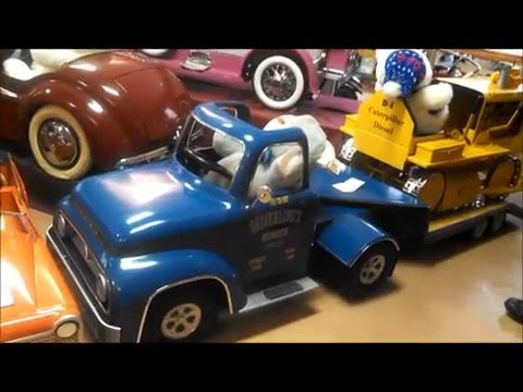 Seiverling Museum, LLC Car and Pedal Car Museum Train and Caterpilar