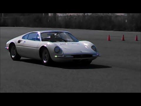Ferrari Tre Posti Prances Around at Demo Days Simeone Foundation Museum