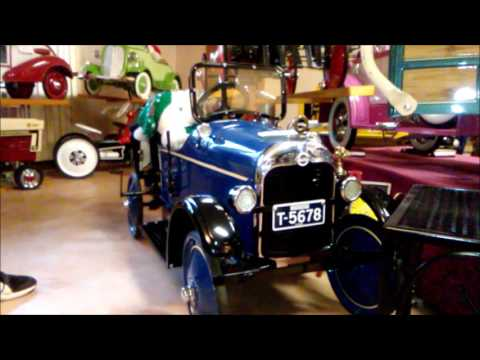 Seiverling Antique Car and Pedal Car Museum 11 20 2016