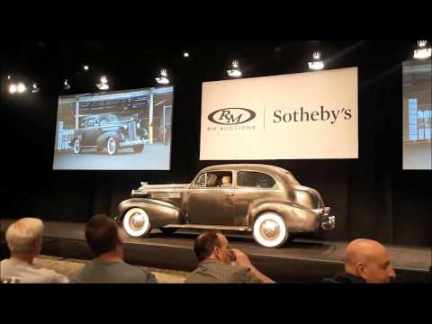 RM Sotheby's 2017 Hershey Auction  1937 Cadillac and Flanders Speedster