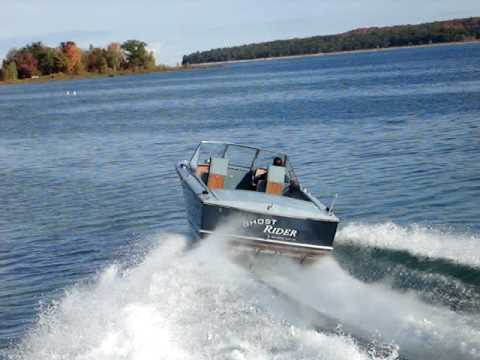 Ghost Rider Fly By (1969 23' Chris Craft Commander)
