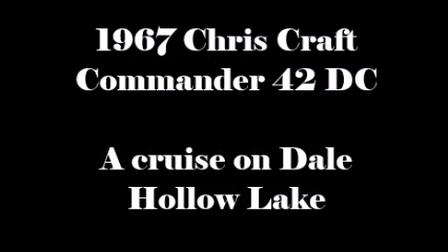 Chris Craft Movie--2016