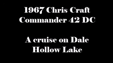Chris Craft Movie--2016