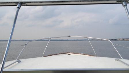 Upbound Potomac River facing Forward