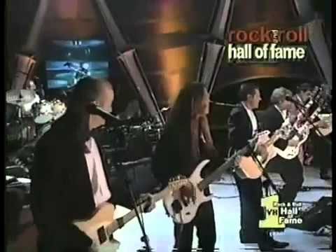 Eagles - Hotel California Live at 1998 Hall of Fame Induction