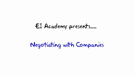 9. Meeting the company --- EI Academy