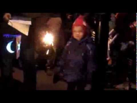 Myddleton Road Christmas Lights  2013